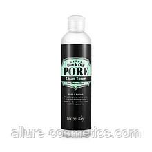 Тонер з деревним вугіллям для очищення пір Secret Key Black Out Pore Clean Toner