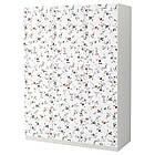 Шкаф IKEA PAX Marnardal белый с цветочным узором 892.650.25, фото 2