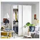 Шкаф-купе IKEA PAX Hasvik белый 592.190.49, фото 4