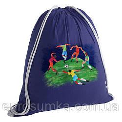 Тканевый рюкзак с принтом от 50 шт.