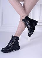 Ботинки черные Philip Plein код 21350, фото 1