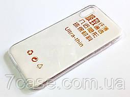 Чехол для iPhone X силиконовый ультратонкий прозрачный