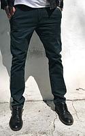 Стильные джинсы брюки зауженные тёмно-синего цвета (длинные) Resalsa CK1001