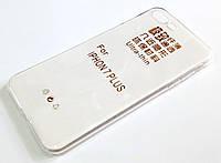 Чехол для iPhone 7 Plus силиконовый прозрачный ультратонкий, фото 1