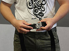 Тактический брючной ремень Oakley с пряжкой tactical black (Oakley), фото 3
