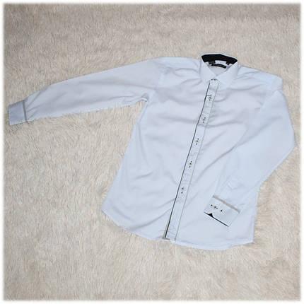 Рубашка школьная на мальчика белая ТМ Lagard Kids размер  134 140 146 , фото 2