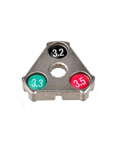Ключ для спиц ProX YC-1A 3,2 / 3,3 / 3,5 мм (A-N-0120), фото 2