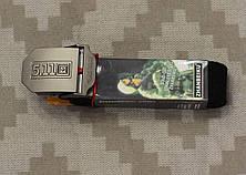 Тактический брючной ремень 5.11 с пряжкой tactical black (кобра-черный), фото 3