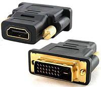 Переходник DVI (папа) - HDMI (мама) , TRY PLUG, черный, серый