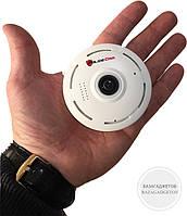Мини камера Беспроводная WiFi 3D Panoramic 360 PoliceCam - обзор 360 град