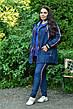 Модная джинсовая парка для полных женщин Филадельфия, фото 2