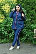 Модная джинсовая парка для полных женщин Филадельфия, фото 4