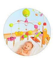 Музыкальная карусель с игрушками 5611-2