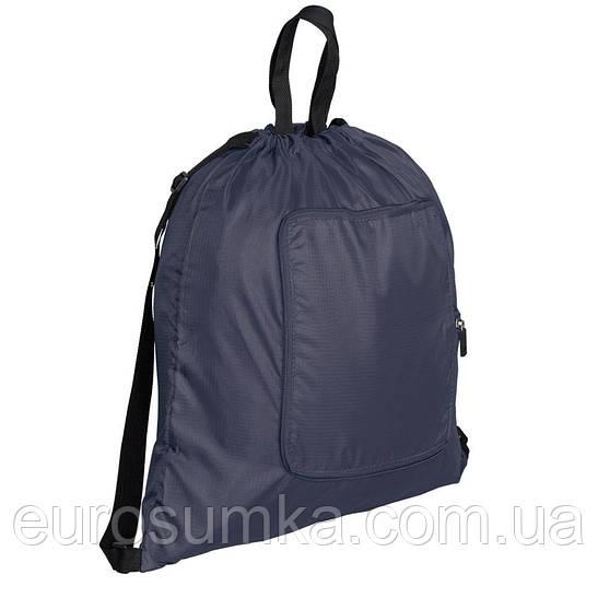 Сумка рюкзак складывающаяся в кошелёк из ткани рип-стоп от 100 шт.