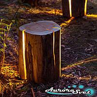 Декоративные пеньки светильники. LED светильник декоративный. Светодиодный светильник.