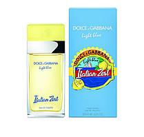 Женская парфюмированная вода DOLCE GABBANA LIGHT BLUE ITALIAN ZEST