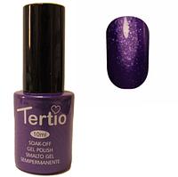 Гель-лак Tertio №176 фиолетовый с блеском 10 мл