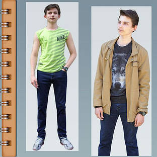 Мужская джинсовая коллекция