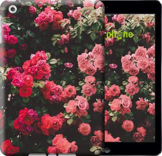 Чехол на iPad 5 (Air) Куст с розами
