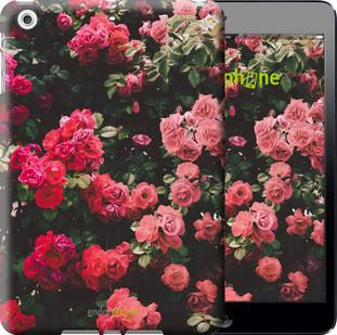 Чехол на iPad mini Куст с розами