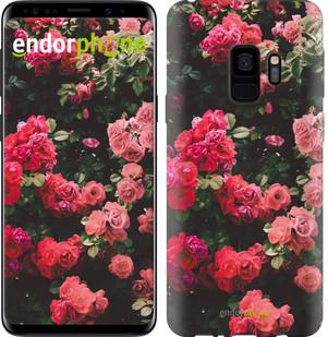 Чехол на Samsung Galaxy S9 Куст с розами