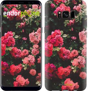 Чехол на Samsung Galaxy S8 Куст с розами