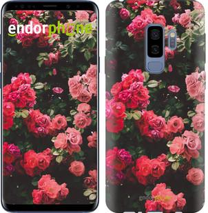 Чехол на Samsung Galaxy S9 Plus Куст с розами