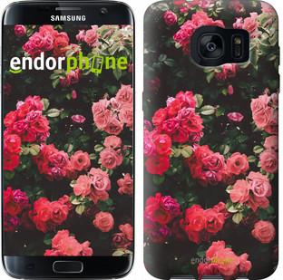 Чехол на Samsung Galaxy S7 Edge G935F Куст с розами