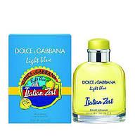 Мужская туалетная вода DOLCE GABBANA LIGHT BLUE ITALIAN ZEST, 75 мл