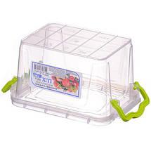 Контейнер пищевой Ал-Пластик Lux 0,8 л. 162 х 112 х 93 мм., фото 2