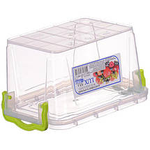 Контейнер пищевой Ал-Пластик Lux 0,8 л. 162 х 112 х 93 мм., фото 3