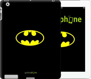 Чехол на iPad 2/3/4 Бетмен логотип