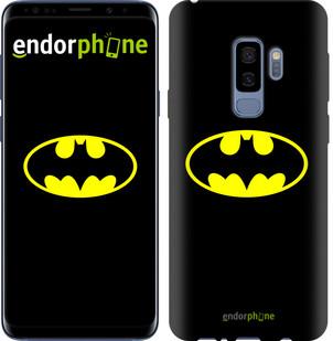 Чехол на Samsung Galaxy S9 Plus Бетмен логотип