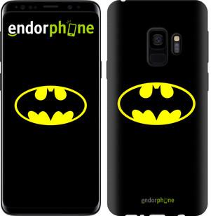 Чехол на Samsung Galaxy S9 Бетмен логотип