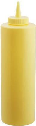 Диспенсер для соусов Empire желтый 350 мл. 7082, фото 2