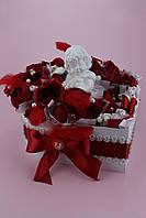 """Букет из конфет в коробке """"Сердце Ангела"""""""