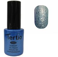 Гель-лак Tertio №179 бледно-лазурный с блестками 10 мл