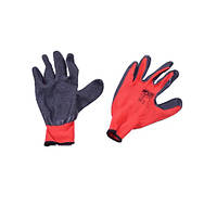 Перчатки Werk WE2110H (полиэстер/латекс, красные)