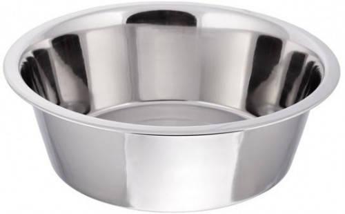 Миска Empire нержавеющая круглая с плоским дном 25 см. 2,5 л. 2274, фото 2