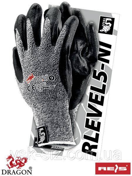 Защитные перчатки REIS RLEVEL5-NI