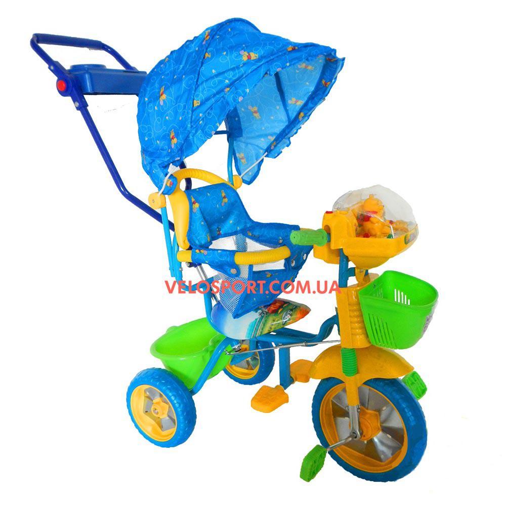 Детский трехколесный велосипед Baby Club Winie the Pooh