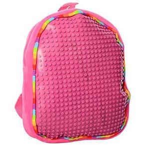 Рюкзак детский цвета в ассортименте 30-24--8см, мягкий, фото 2