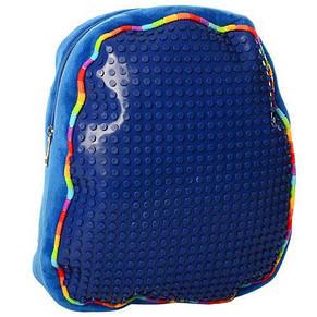 Рюкзак детский цвета в ассортименте 30-24--8см, мягкий, фото 3