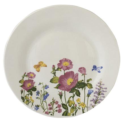 Тарелка S&T Полевые цветы мелкая 20 см 050-13-02, фото 2
