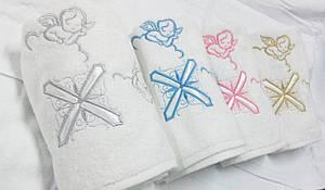 Полотенце для крещения с ангелами (крыжма)