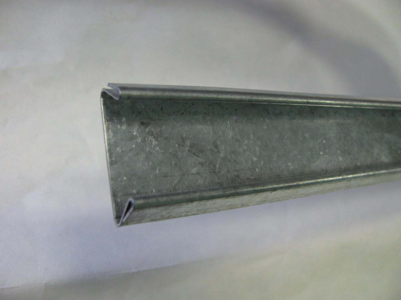 Профіль Екстра (зигзаг) оцинкований для кріплення плівок