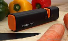 Точилка для ножей с толстым и тонким обухом Fiskars Edge (1003098), фото 2