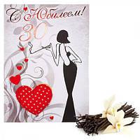 Открытки с арома-саше и значками, открытка-малышка