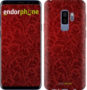 Чехол на Samsung Galaxy S9 Plus Чехол цвета бордо