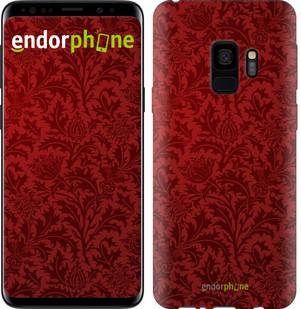 Чехол на Samsung Galaxy S9 Чехол цвета бордо